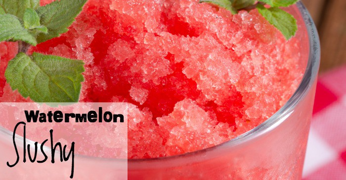 easy watermelon slushy recipe fb