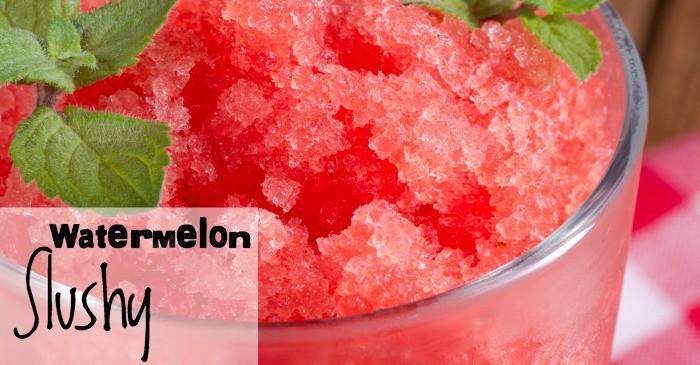 easy watermelon slushy recipe fb