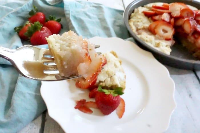 fluffy gluten-free scones with strawberries random
