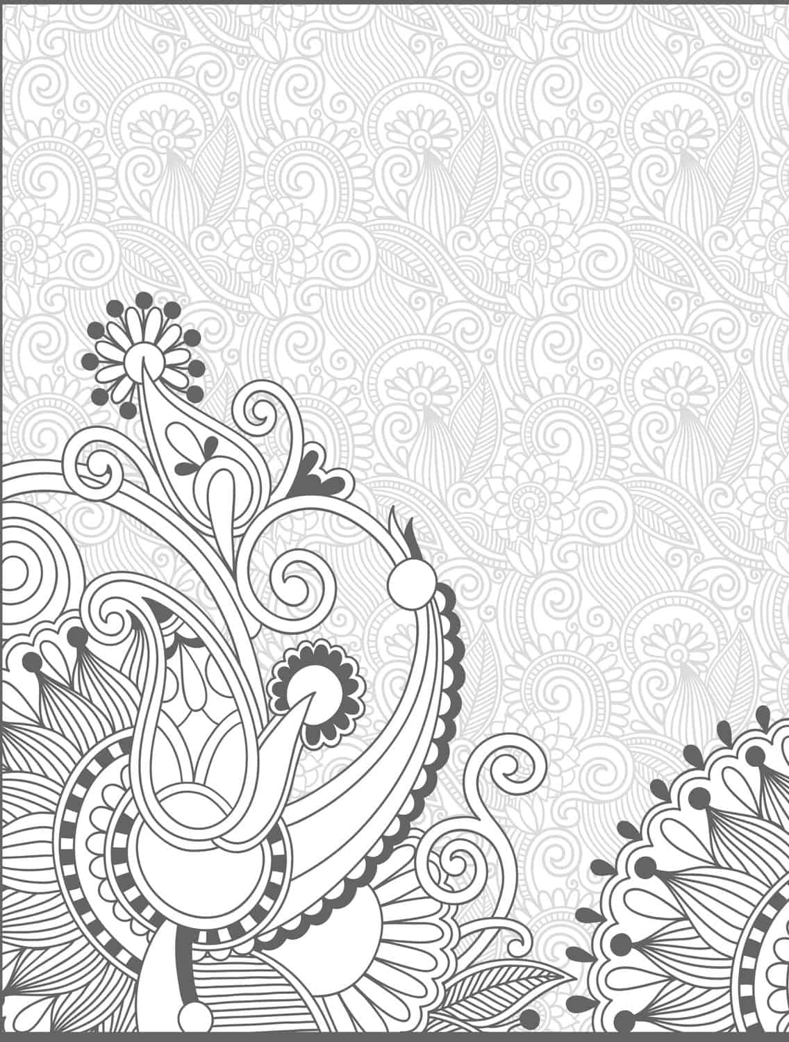 15 Crazy Busy Coloring Pages For Adults Page 16 Of 16