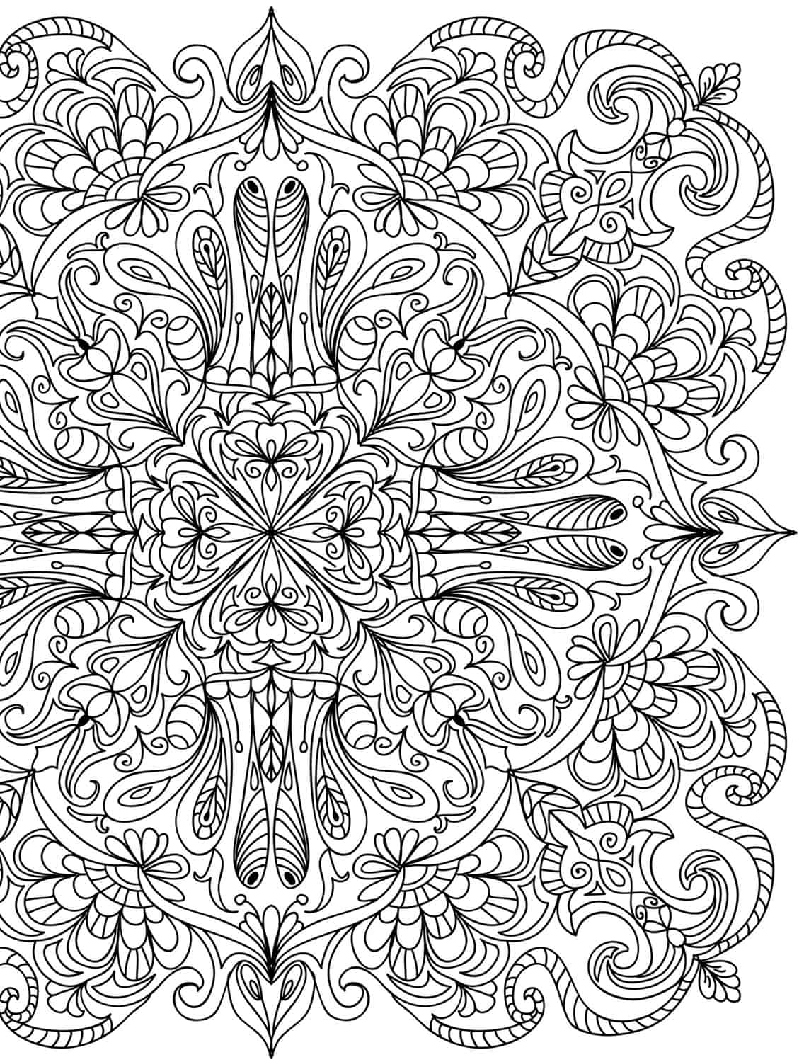 15 CRAZY Busy Coloring Pages for Adults Page 13 of 16 Nerdy Mamma