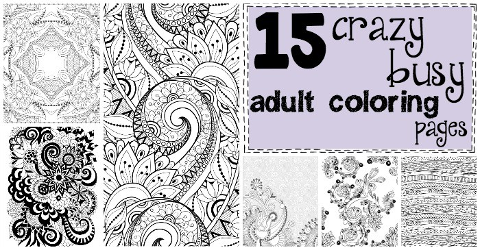 Merveilleux Fun Adult Coloring Pages Fb