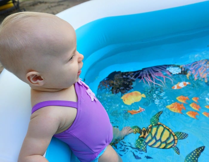 how to get baby to enjoy swimming random