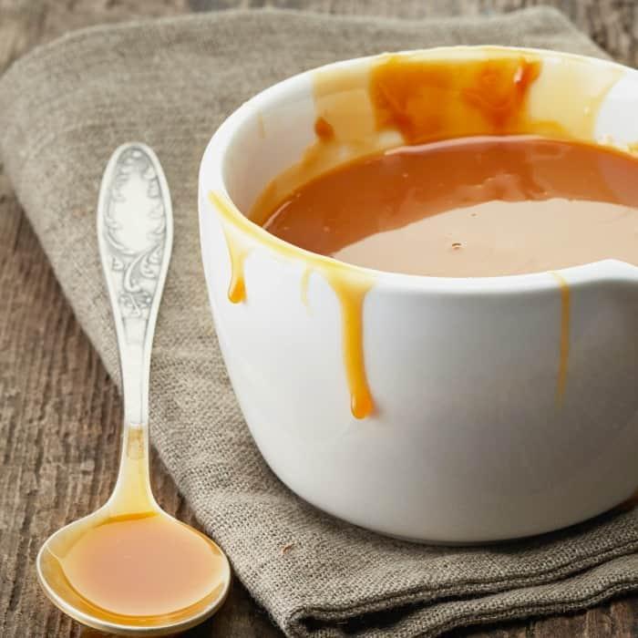 how to make vegan caramel sauce sq
