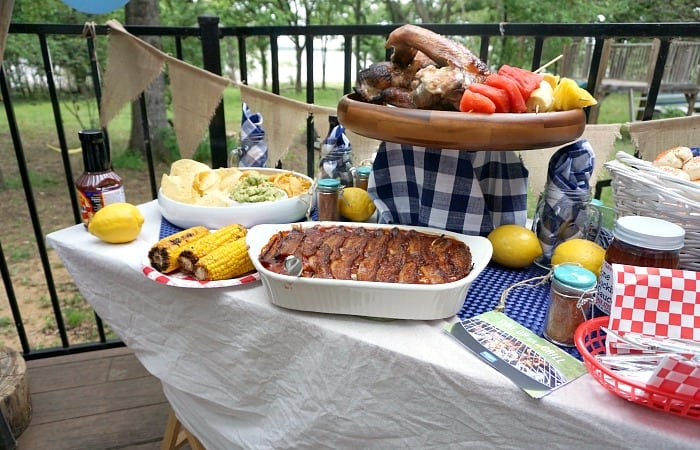 how to quickly put together a bbq party feature
