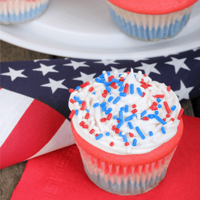 july fourth cupcake recipe wheat-free sq
