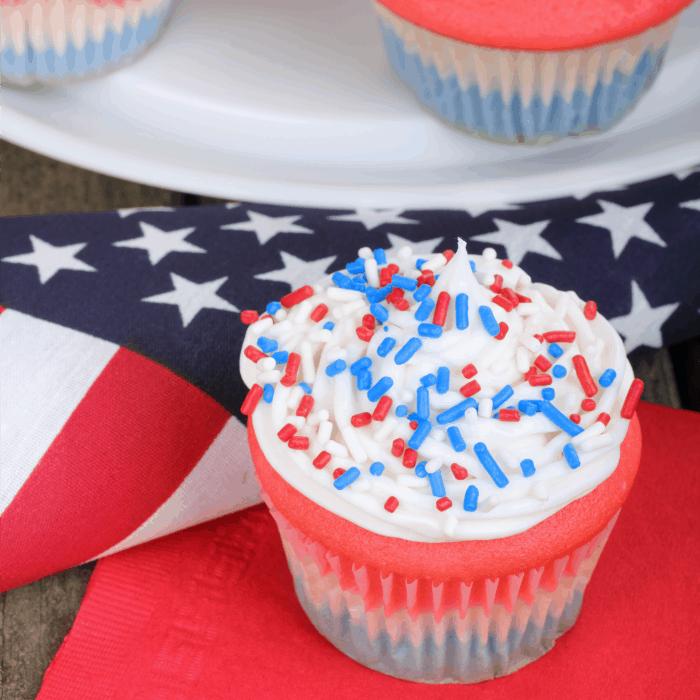 july fourth cupcake recipe wheat-free sq