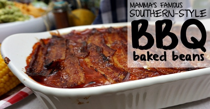 mamma's famous southern-style bbq baked beans fb
