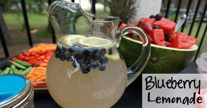 recipe for blueberry lemonade FB