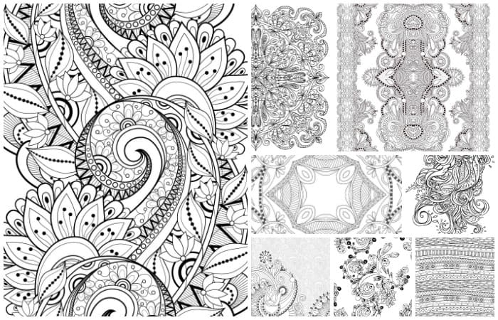 15 CRAZY Busy Coloring Pages for Adults - Nerdy Mamma