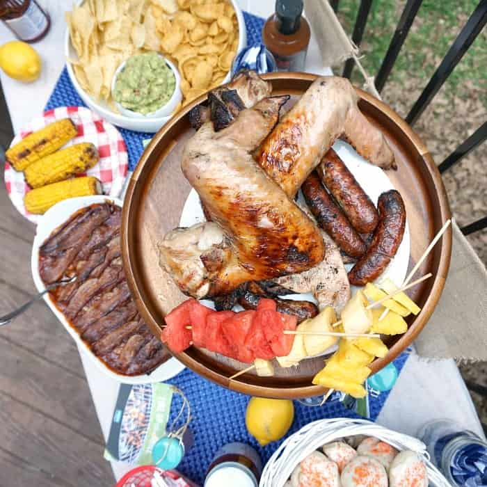 what kind of things hsould you cook for a bbq party in the backyard sq