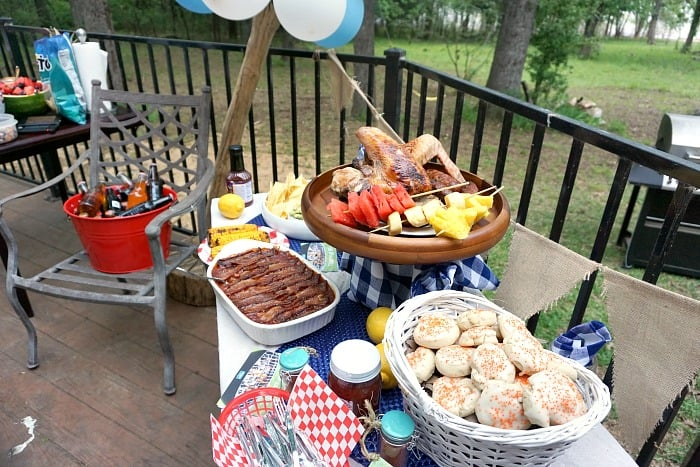 what should you cook for a backyard BBQ party random