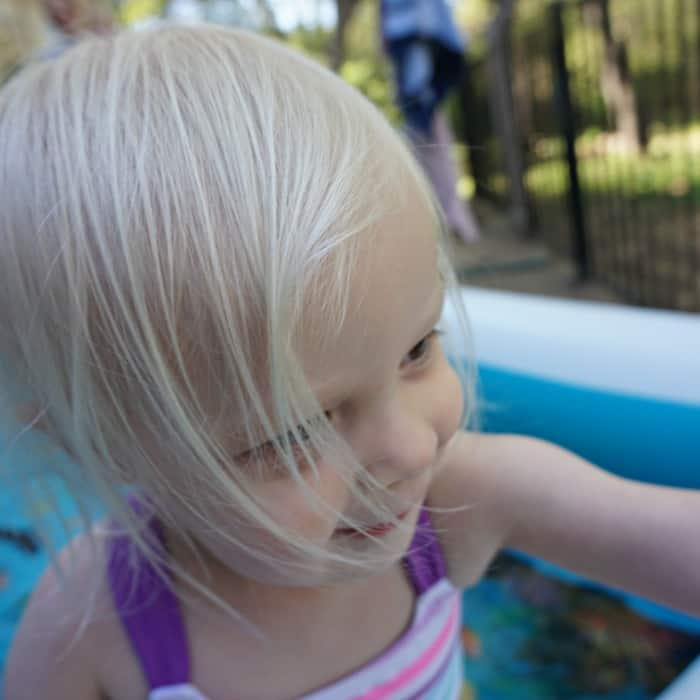 what to do to teach a baby to swim sq