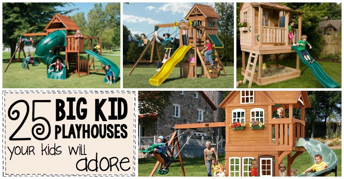 25 big kid playhouses your kids will adore fb