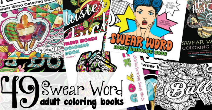 49 Swear Word Adult Coloring Books Fb