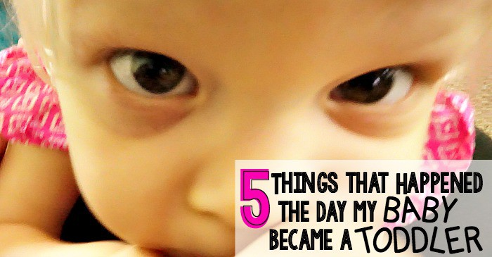 5 things that happened the day my baby became a toddler fb