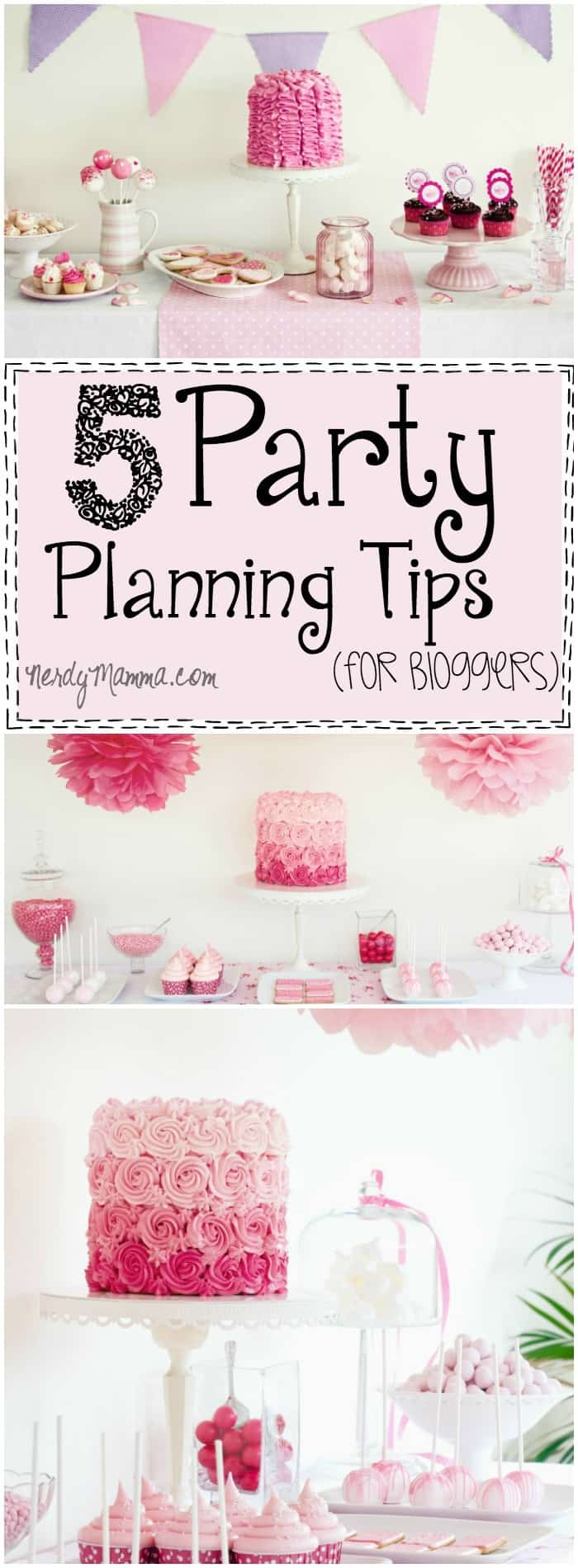 I love how easy she breaks-down the essentials of doing a party layout for a blog. She makes party planning sound so easy! LOL!
