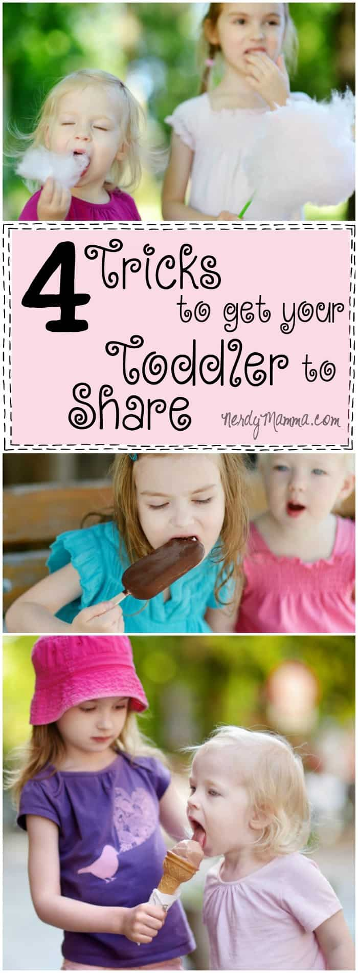 I love these 4 Tricks to get toddler to share! I can't wait to implement these (and maybe share them with my playgroup).