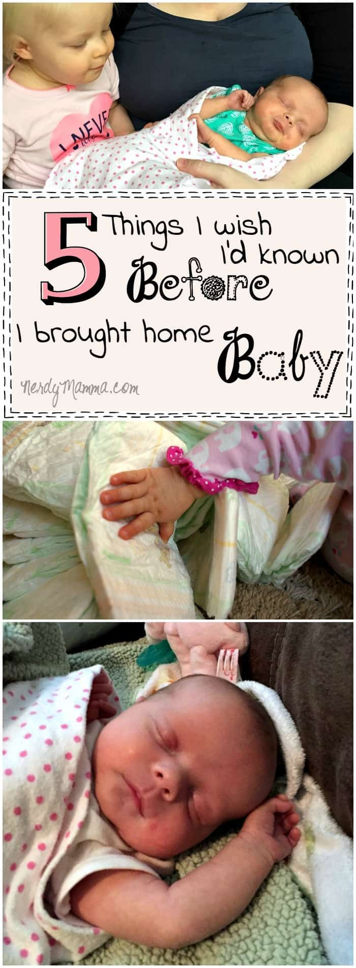 These 5 Things this mom wishes she'd known before she brought her baby home So precious...and so sweet. I kind of wish I'd known that, too...especially #2.