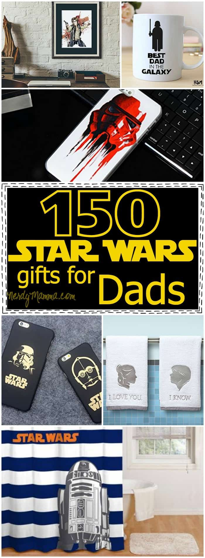 This is the BEST set of Father's Day gifts! LOL! All of them Star Wars and all of them fun! Can't wait to buy one...but which one to pick LOL!