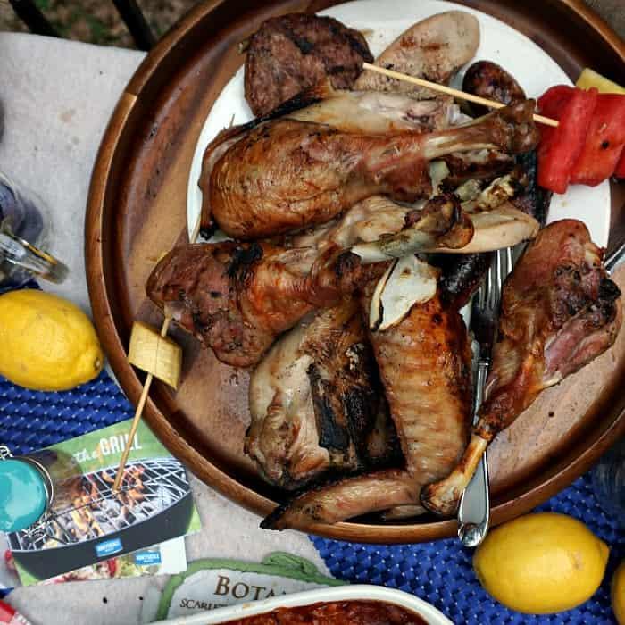 brined grilled turkey legs sq