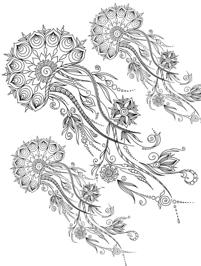 coloring pages for adults that can be downloaded for free
