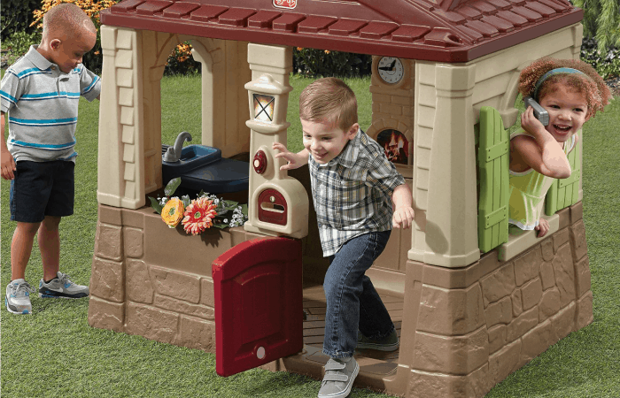 cool playhouses for toddlers feature