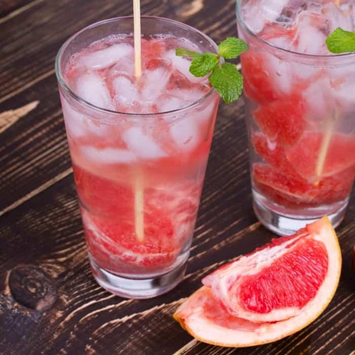 easy recipe for grapefruit mojitos sq