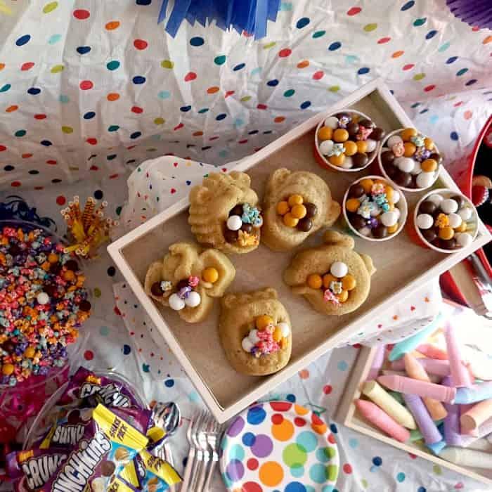 fun rainbow party ideas sq