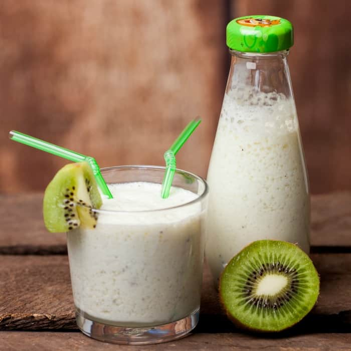 how to make a kiwi smoothie recipe sq