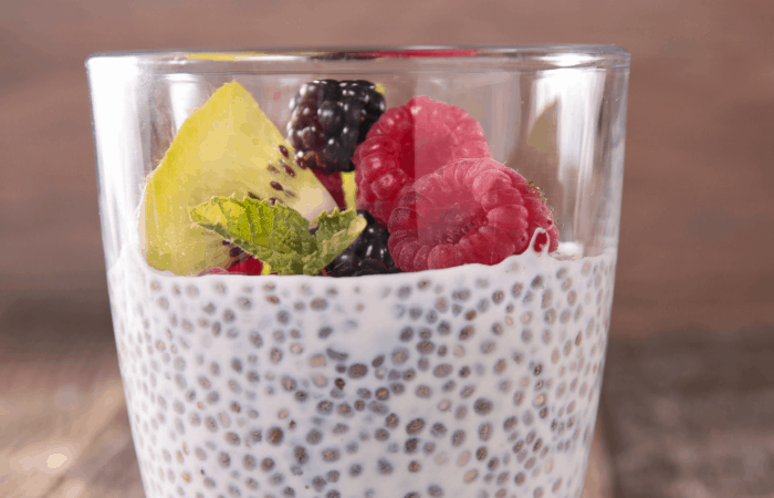 Overnight Tropical Breakfast Chia Pudding