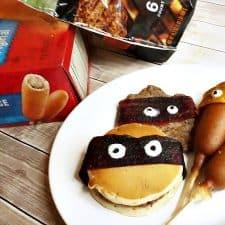 Ad: Homemade Fruit Leather Masks for TMNT Snacks