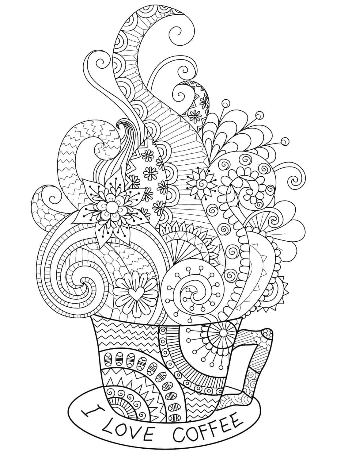 20 Gorgeous Free Printable Adult Coloring Pages - Page 10 of 22 ...