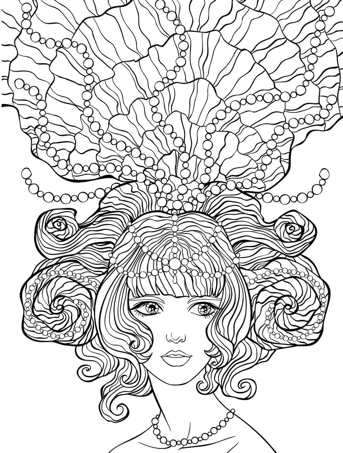 crazy coloring pages for adults - photo#26