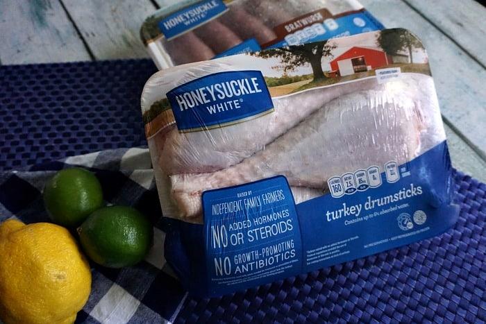 recipe for grilled turkey legs rndom