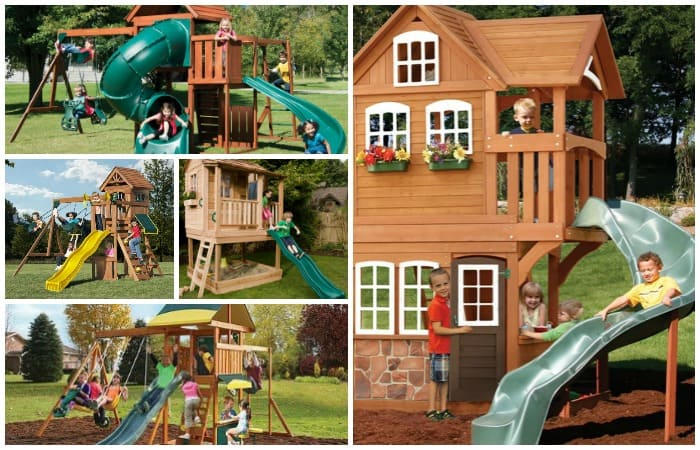 swing sets for big kids feature