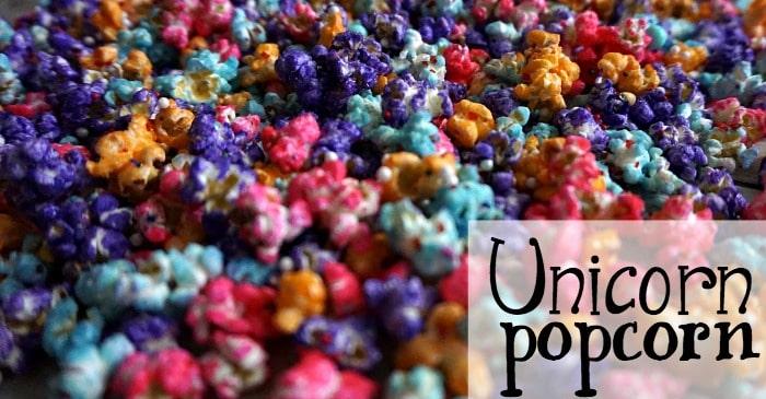 unicorn popcorn recipe fb