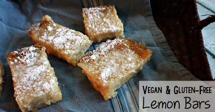 vegan & gluent-free lemon bars fb