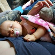 Why I Hold My Baby for Naps – And Its Great