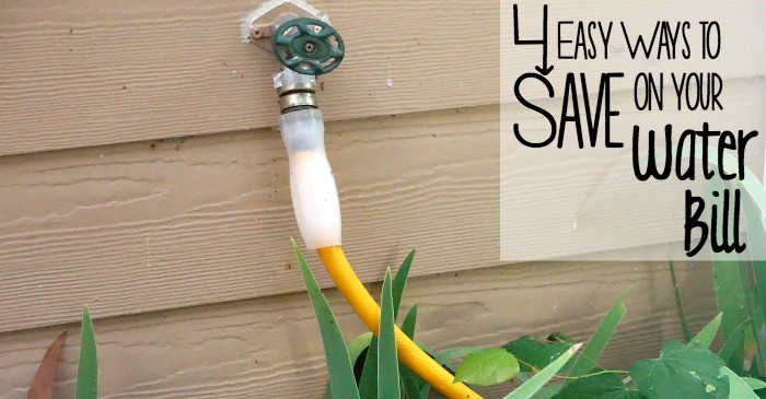 4 Easy Ways to Save on Your Water Bill fb