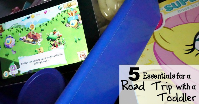5 Essentials for a Road Trip with a Toddler fb