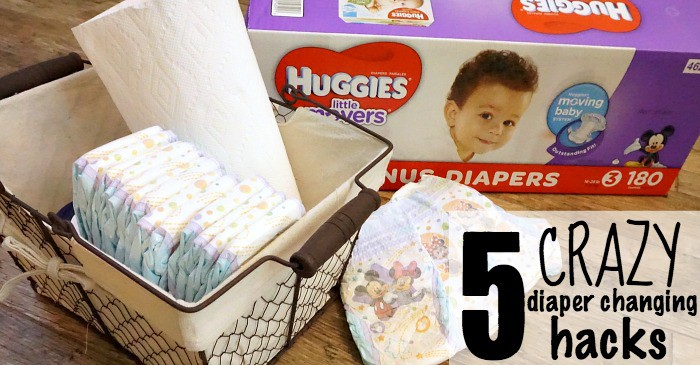 5 crazy diaper changing hacks fb