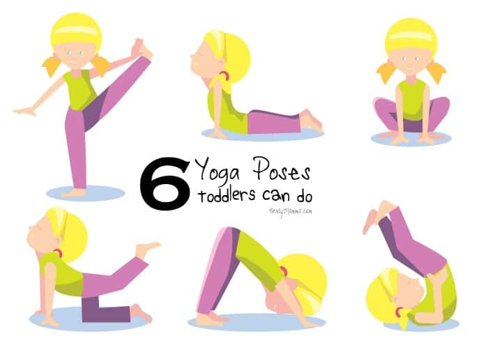6 Easy Yoga Poses That Toddlers Can Do Free Printable