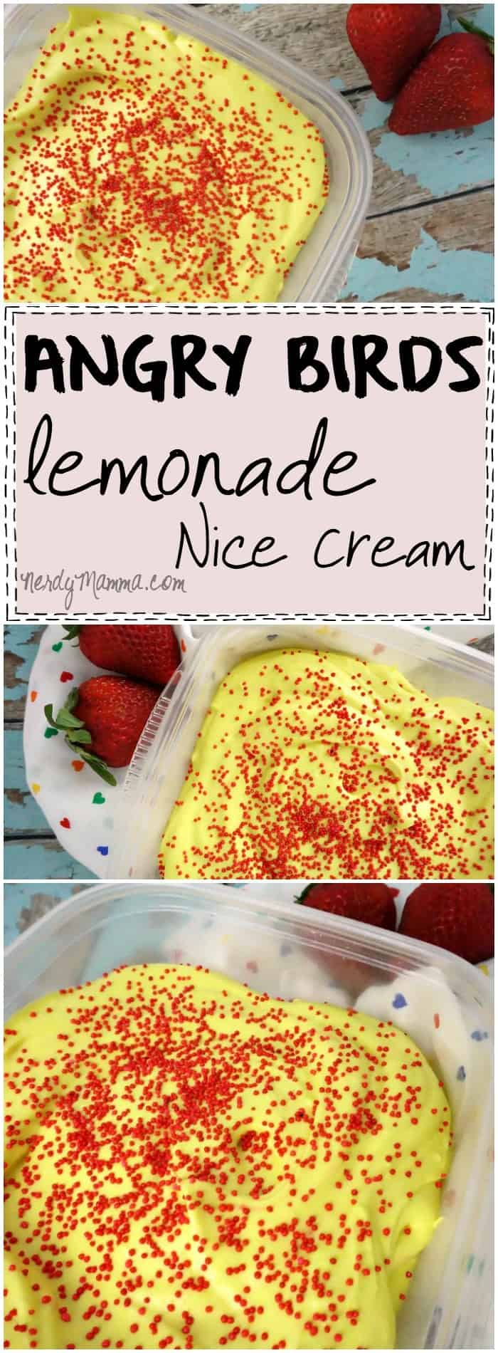 I absolutely love this easy recipe for dairy-free ice cream. I mean coconut milk ice cream can be anything, huh And it tastes like lemonade! How very awesome.