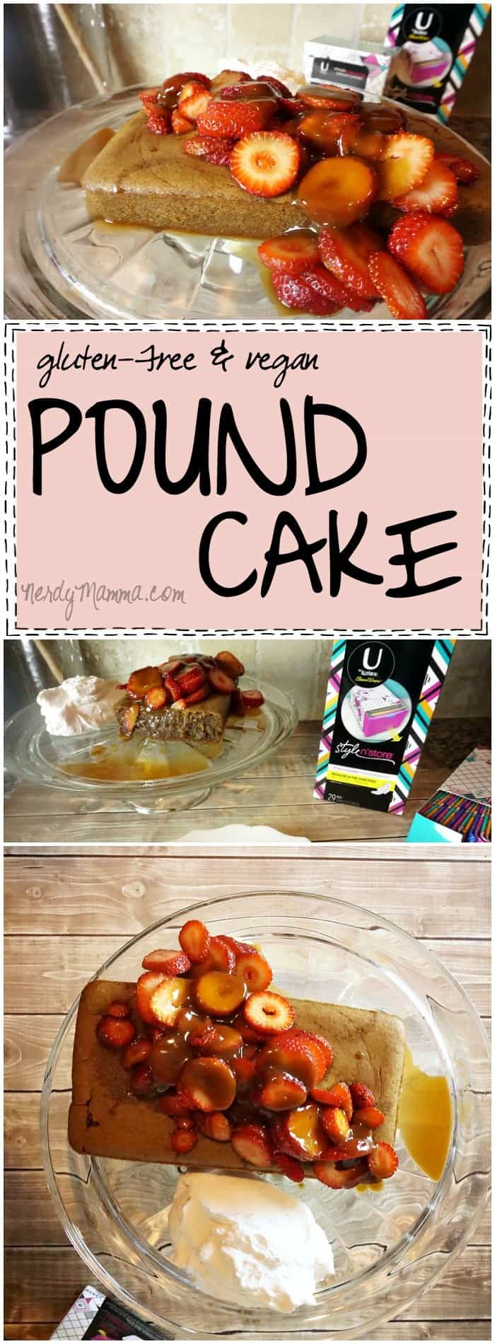 I seriously can't think of a better dessert or snack for that time of the month. It's so easy, actually kind of healthy (it's paleo, vegan and gluten-free, after all)--this pound cake recipe is awesome.