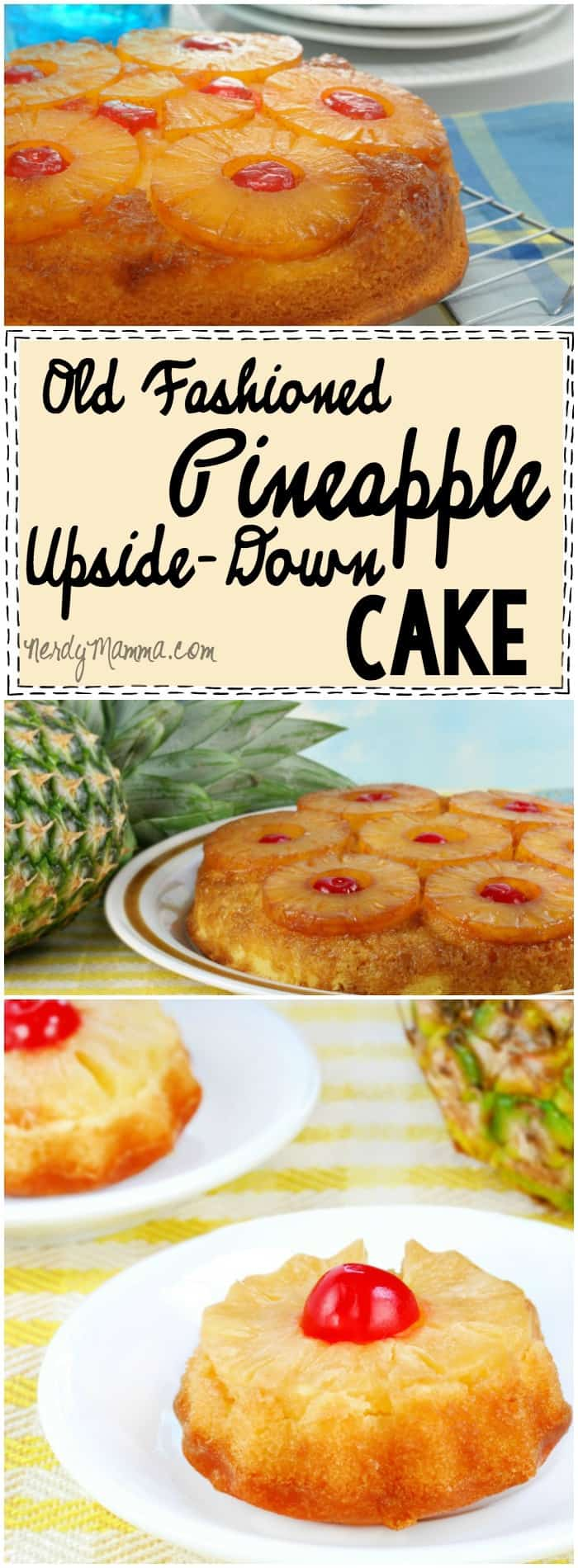 Mmmm...This recipe for Old Fashioned Pineapple Upside-Down Cake sounds so yummy--and so easy. I have to try it!