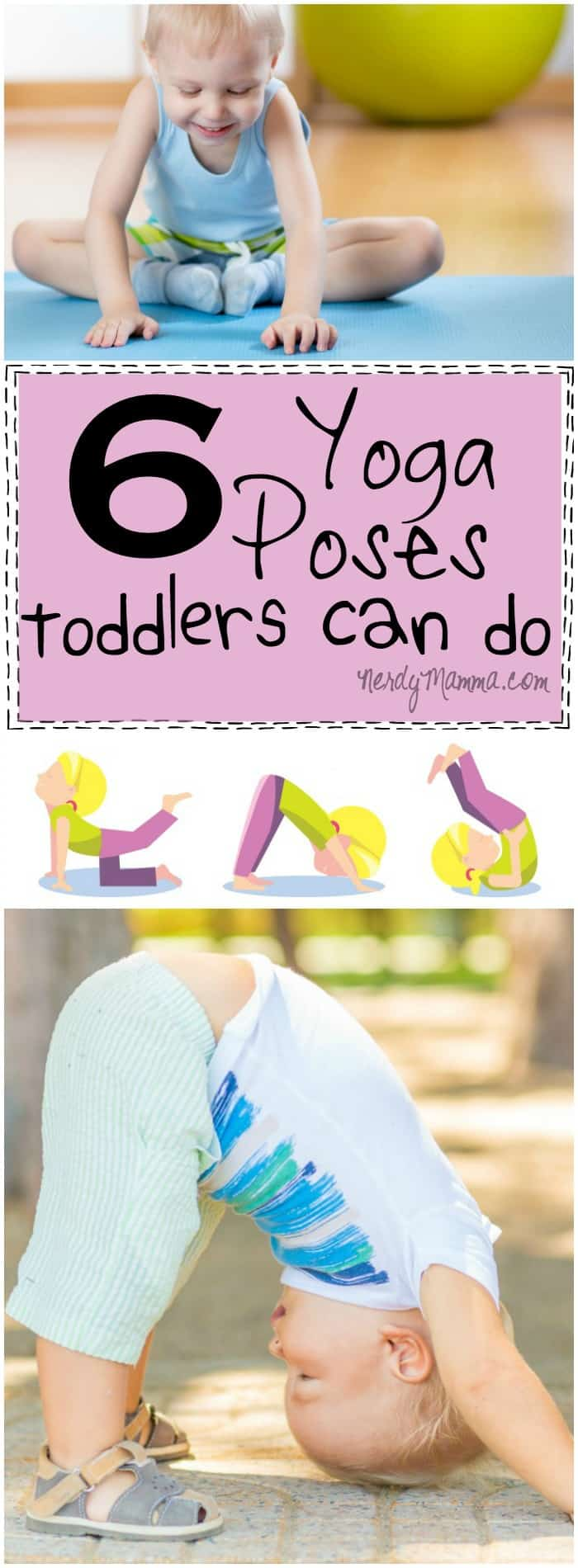 image relating to Printable Yoga Poses for Preschoolers identify 6 Yoga Poses Infants Can Do (with a absolutely free printable) - Nerdy