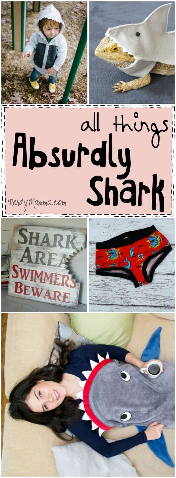 This collection of all things absurdly shark is just so funny. I mean, who buys this! Oh, wait, I think I might need those panties...LOL!