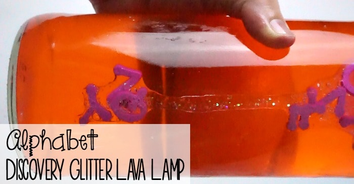 Alphabet discovery glitter lava lamp nerdy mamma - Putting together stylish kitchen abcs ...