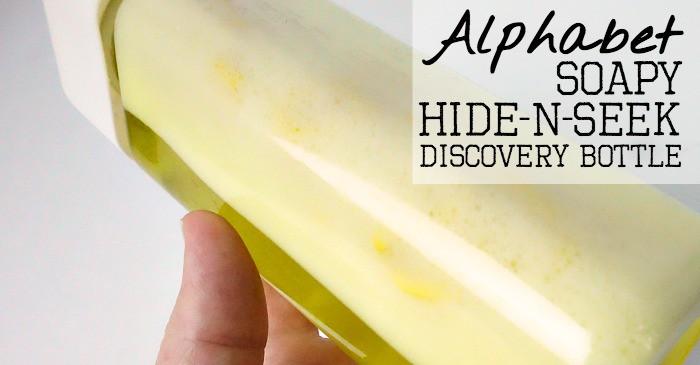 alphabet soap hide-n-seek discovery bottle fb